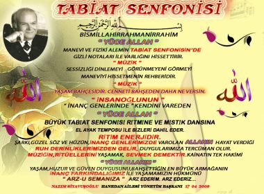 Tabiat Senfonisi Nazım Siyavuşoğlu
