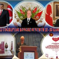 Nazım Siyavuşoğlu OSMANLI COĞRAFYASI Uluslar Arası Kongre Sunumu