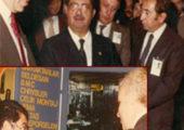 Sayın Merhum Cumhurbaşkanı Turgut Özal C.V.T.'Ziyareti Nazım Siyavuşoğlu
