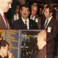 Cumhurbaşkanı Turgut Özal C.V.T.'de