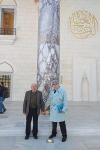 Çamlıca Camii ve değerli bir arkadaşım( Nazım Siyavuşoğlu )