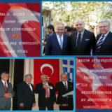 Atina B. Elçisi Hasan Göğüş & Nazım Siyavuşoğlu T.C. Başkonsolosu İhsan Yücel Cumhuriyet Resepsiyonu